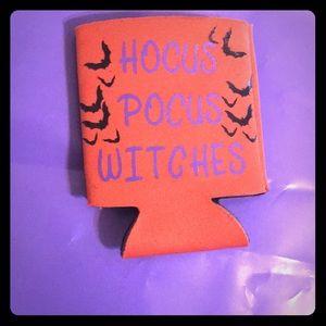 Hocus pocus witches koozies